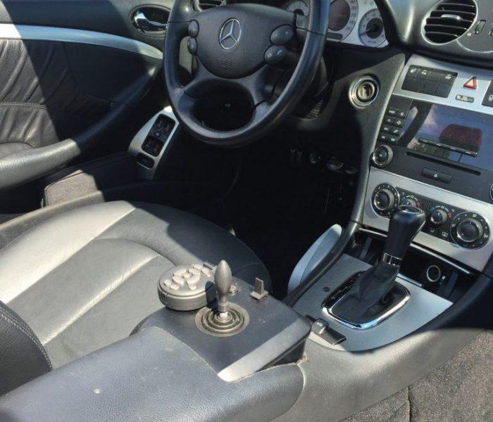 Mercedes CLK med joystickstyring_joystick 2